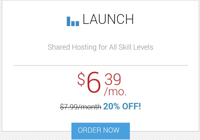 InMotion Hosting Joomla Launch package