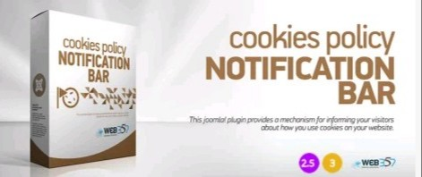 Cookies Policy Notification Bar - Best Joomla GDPR Extension in 2021