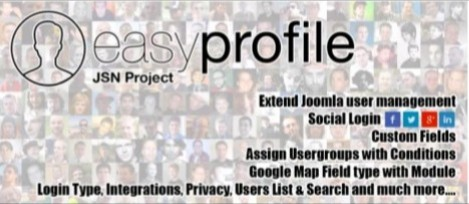 Easy Profile - Best Joomla User Management Extension in 2020