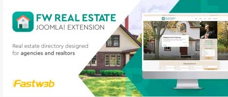 FW Real Estate - Best Joomla Real Estate Extensions in 2020